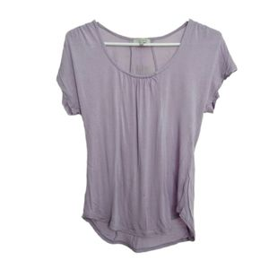 Aritzia TALULA Purple Short Sleeve Top